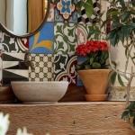 İç mekanlarda patchwork fayans kullanımı