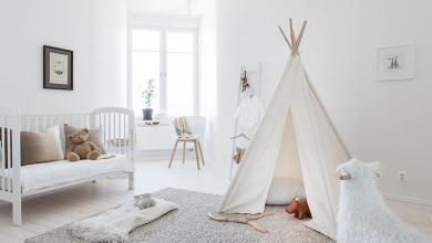 iskandinav tarzı bebek odaları 2019