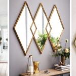 koridor aynaları ile dekorasyon örnekleri