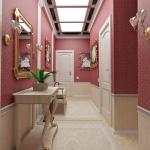 koridor dekorasyonu fikirleri