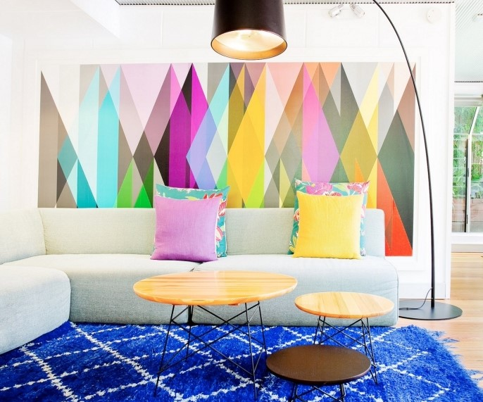pastel renkli duvar kağıdı modeli 2019 2020