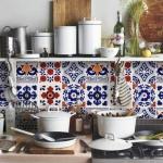 Patchwork fayanslar ile mutfaklar 2019