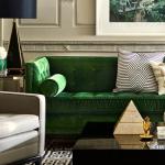 yeşil koltukla uyumlu diğer renkler