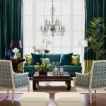 yeşil kanepe ile dekorasyon fikirleri