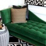 yeşil koltukla uyumlu renkler