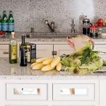 Beyaz granit mutfak tezgahı modeli 2019