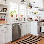 çizgili mutfak halısı modelleri 2018