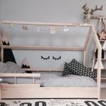 çocuk odası alçak karyola modelleri 2018