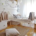 çocuk odası demir karyola modeli