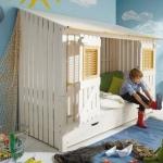 çocuk odası yaratıcı karyola modelleri 2018