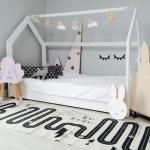 çocuk odası yere yakın karyola modelleri