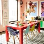 desenli mutfak halısı 2018