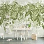 iç tasarım trendi tropikal desenler