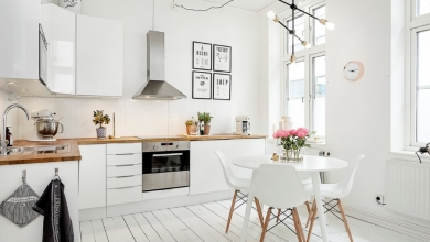 İskandinav tarzı beyaz mutfaklar 2018 2019