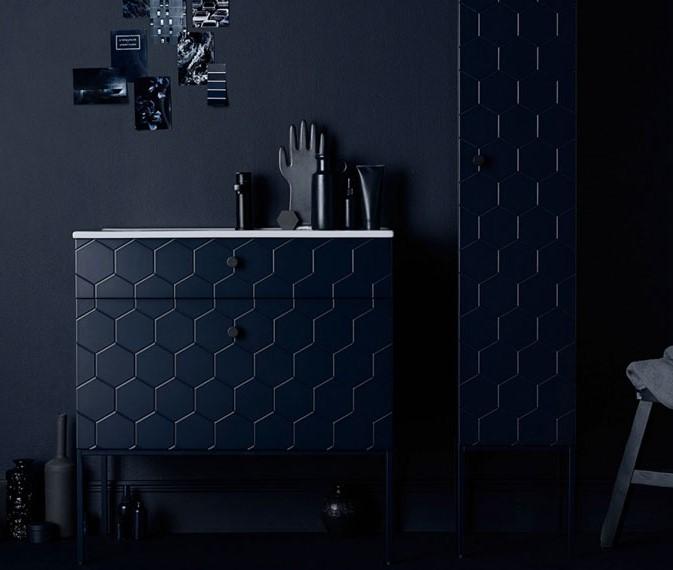 lacivert banyo tasarımları 2019
