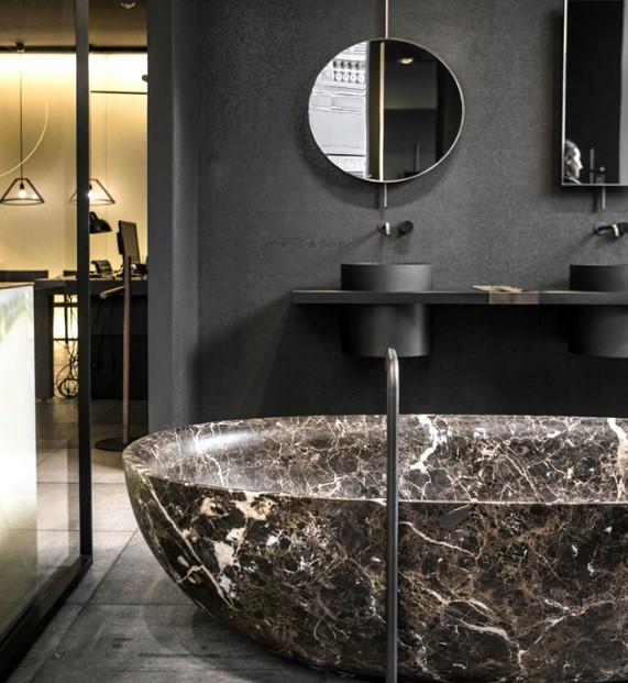 siyah banyo tasarımları 2019 2020