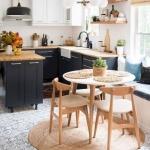 yuvarlak mutfak halısı modeli 2018