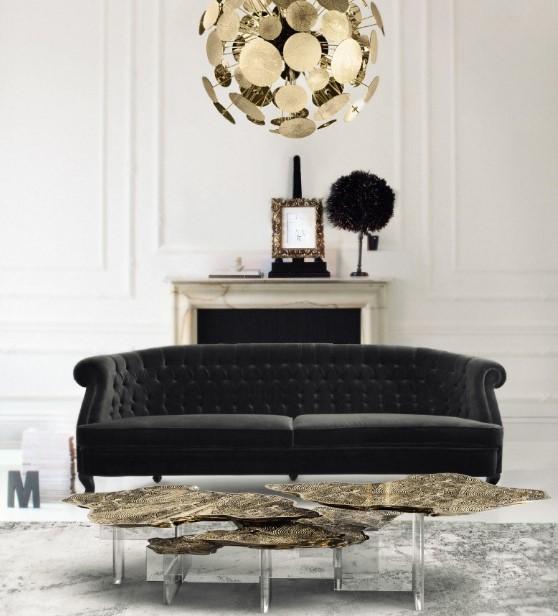 modern salonlar için iç tasarım fikirleri 2019