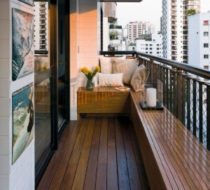 Balkon Ahşap Modelleri