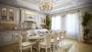 Barok Mutfak Takımı