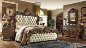 Şık Barok Yatak Odası