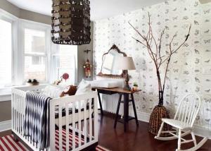 Çocuk Odası Duvar Kağıdı Modeli
