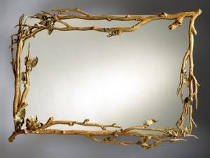 Dal Desenli Ayna Modeli