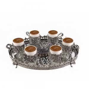 Gümüş Kahve Takımı