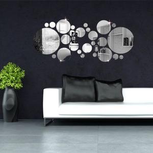 Oturma Odası Ayna Dekorasyonu