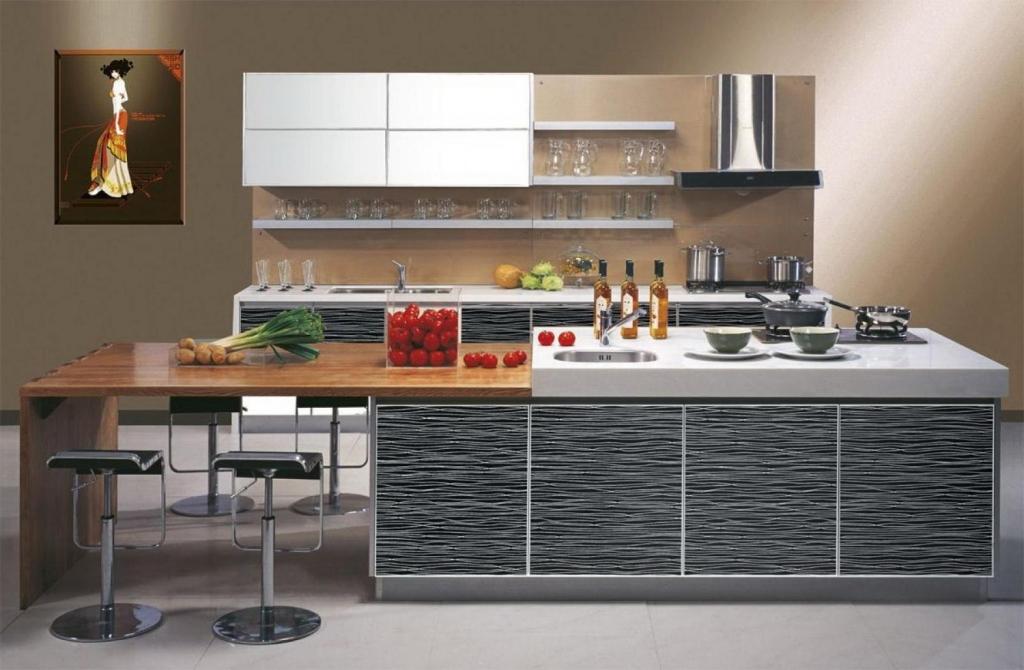İtalyan Tipi Mutfak Dekorasyonu Modeli