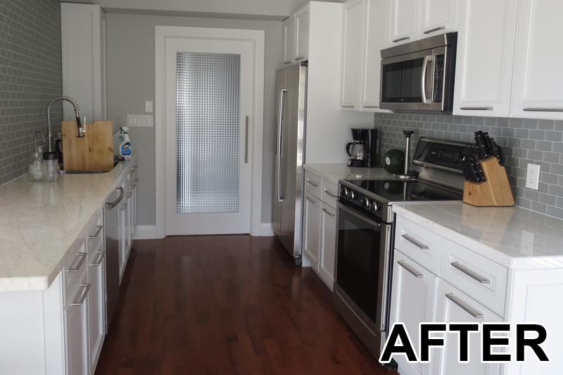 Mutfak Dolabı Boyama Sonrası