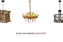 En Şık Avize Modelleri 2019-2020