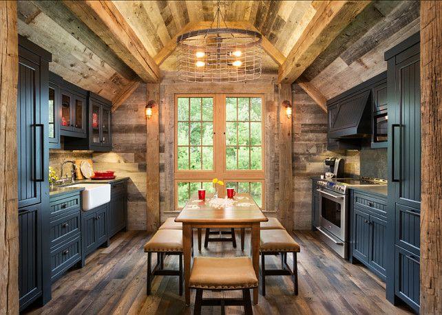 Rustik Mutfak Dekorasyon