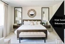 9 Şık Yatak Odası Dekorasyonu Modeli