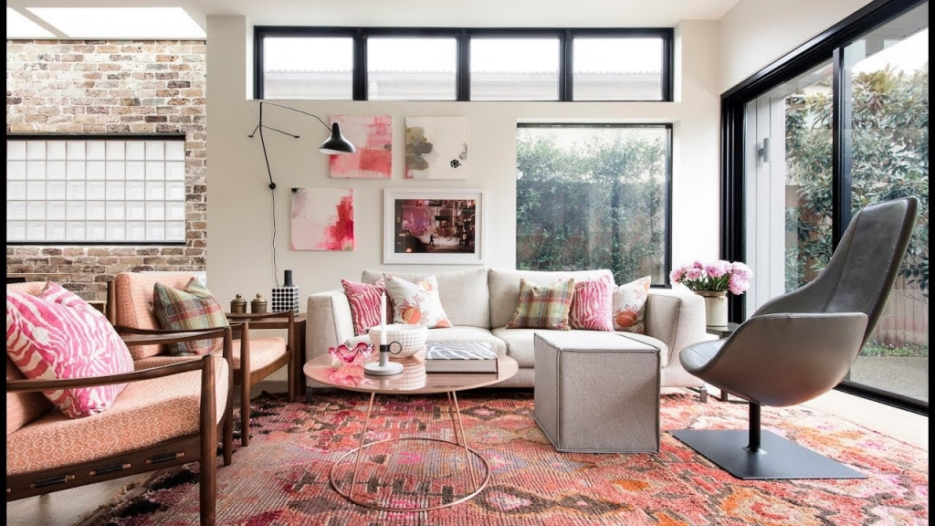 Oturma Odası Romantik Dekorasyon