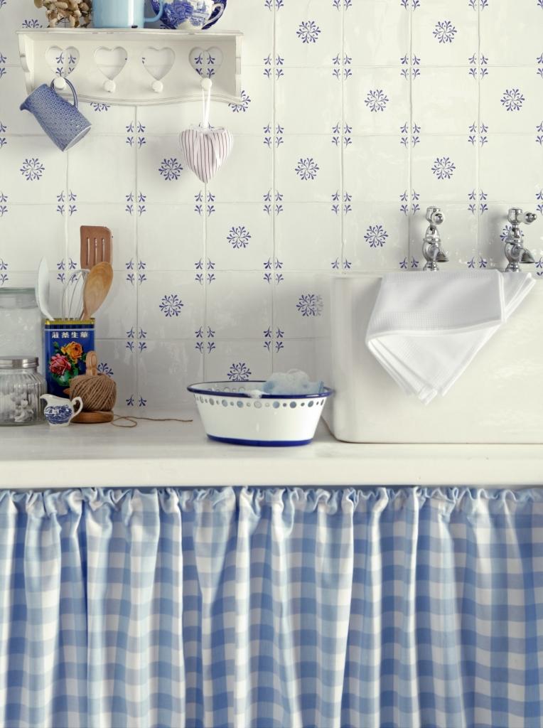 Vintage Mutfak Dekorasyonu Örneği