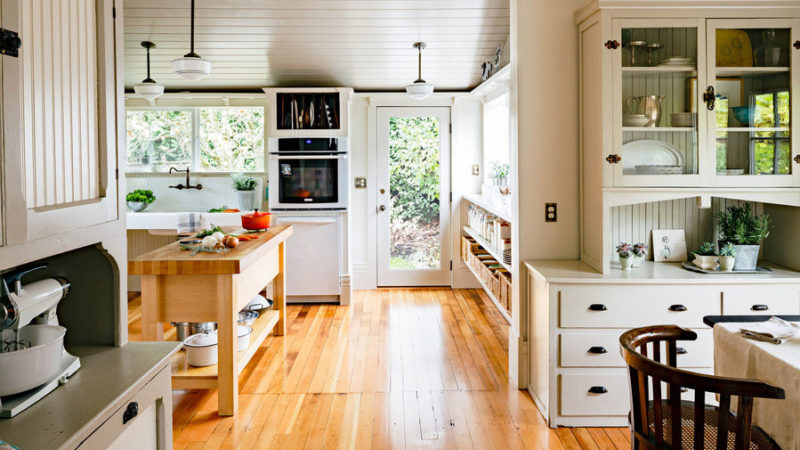Vintage Mutfak Dekorasyonu Tasarımı