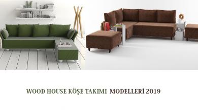 Wood House Köşe Takımı Modelleri 2019