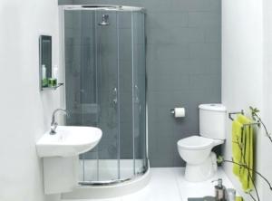 Beyaz Renk Banyo Dekorasyonu