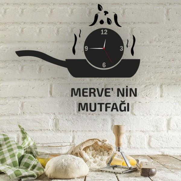 Mutfak Dekoratif Saat Modeli