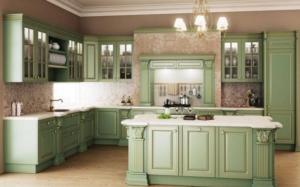 Yeşil Mutfak Dolabı 2019