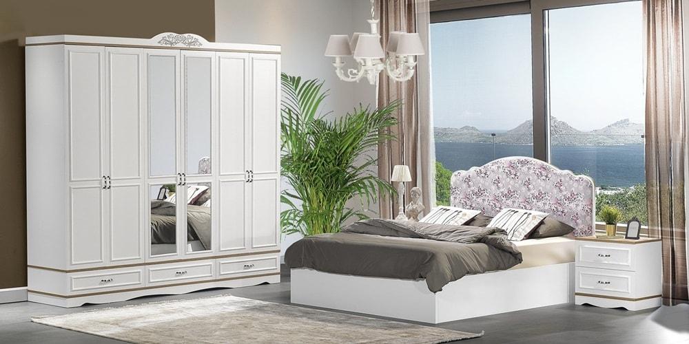 Bazalı Yatak Odası Dekorasyonu