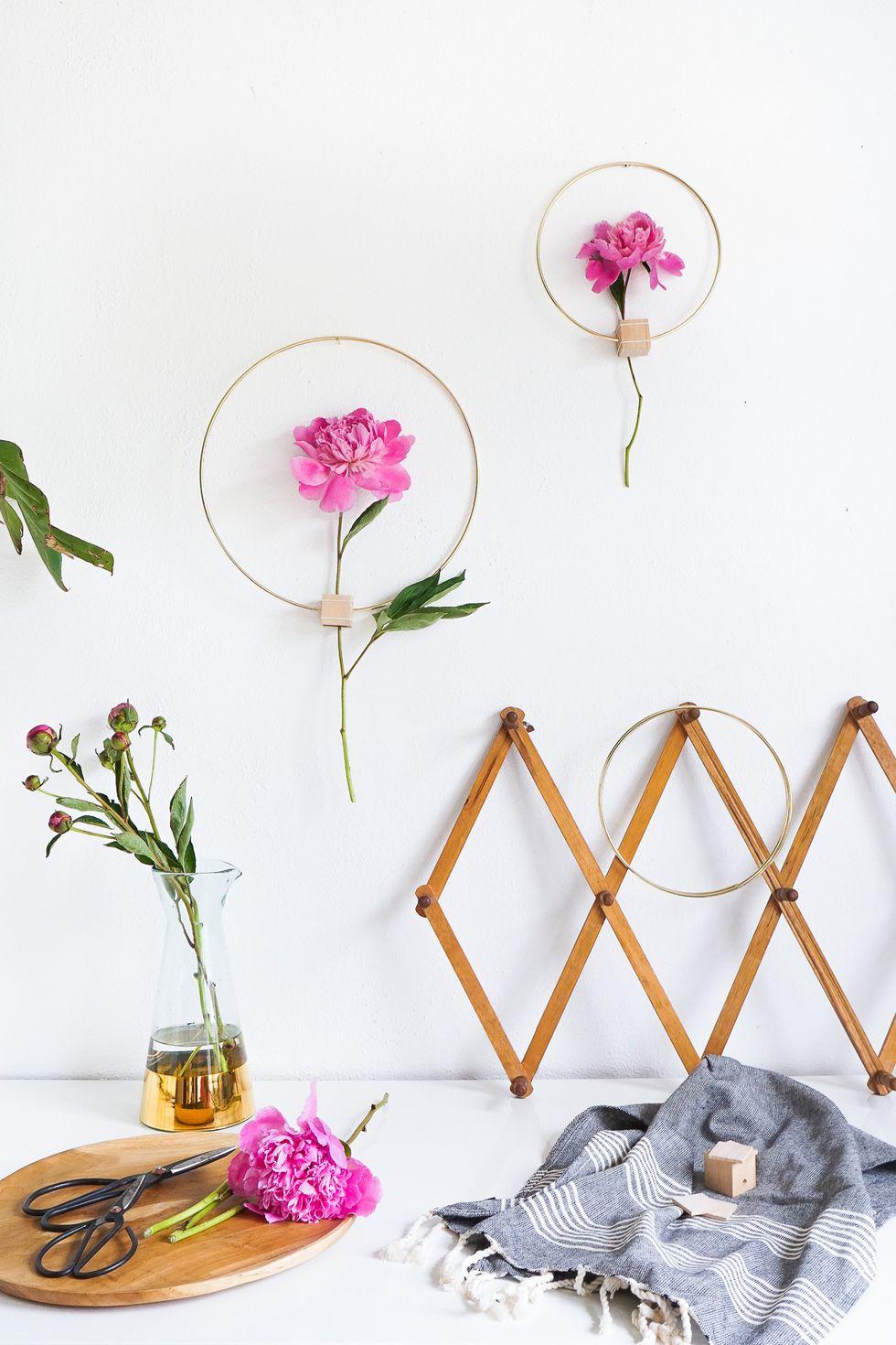 Duvar Çiçek Dekorasyonu