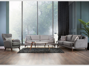 Esmer Mobilya Oturma Odası Dekorasyonu