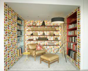 Kütüphane Duvar Kağıdı Modeli