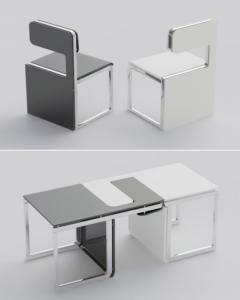 Modüler Mobilya Masa Modeli