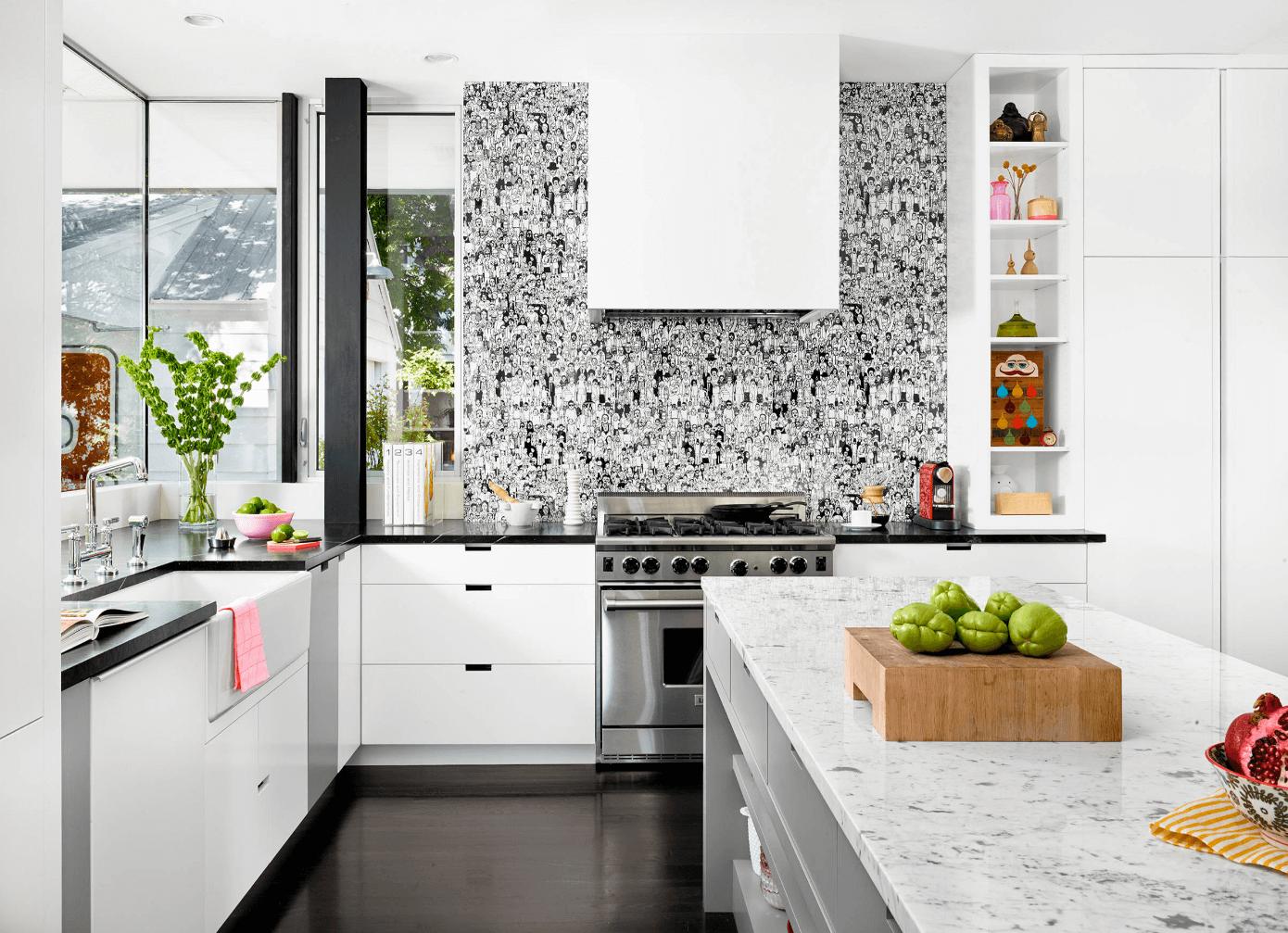 Mutfak Duvar Kağıdı Modeli