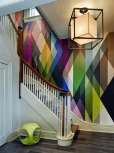 Renkli Duvar Kağıdı Modeli