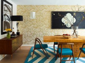 Sarı Renkli Duvar Kağıdı