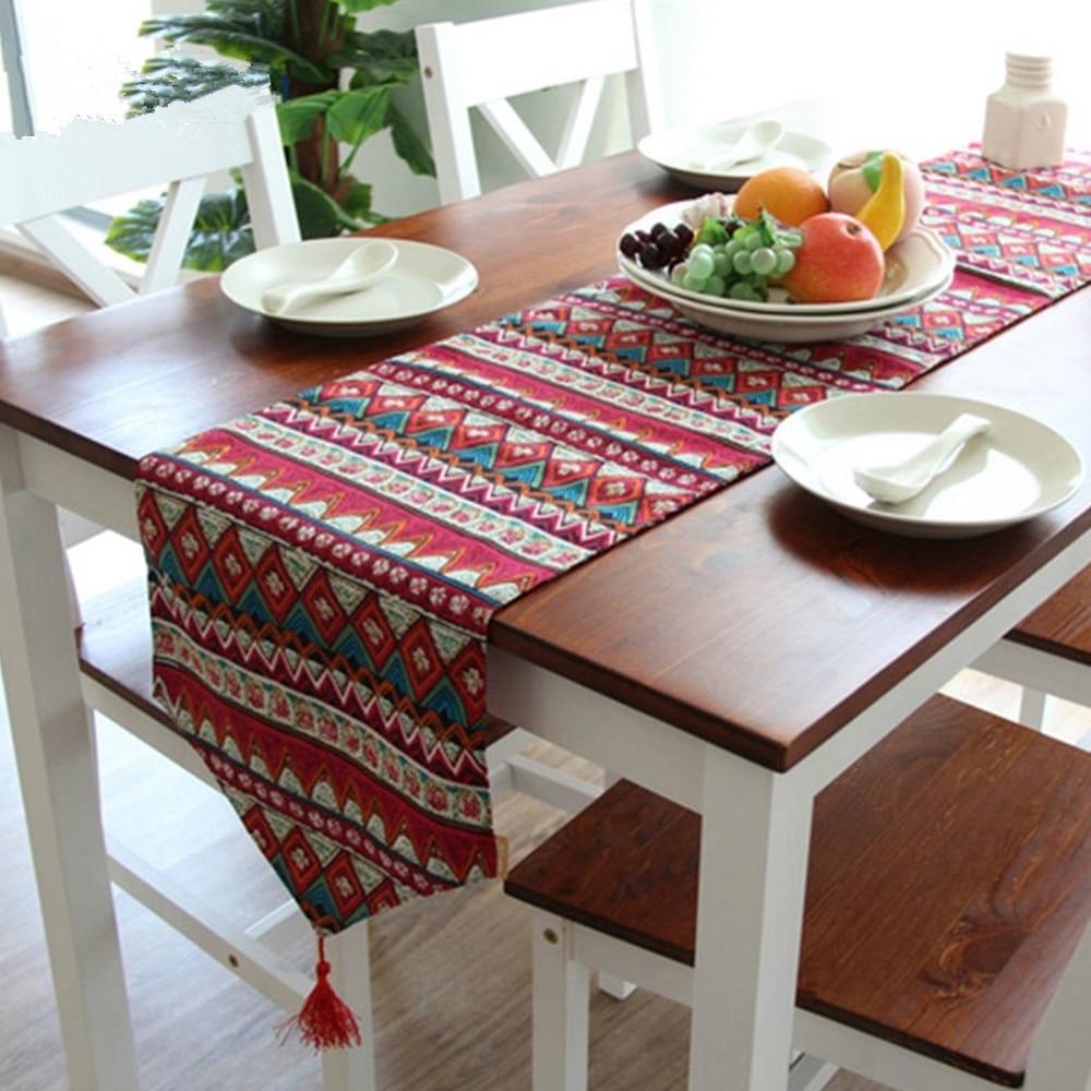 Bohem Mutfak Masa Örtüsü Modeli